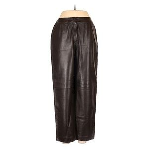 Carlisle leather high waisted vintage brown pants